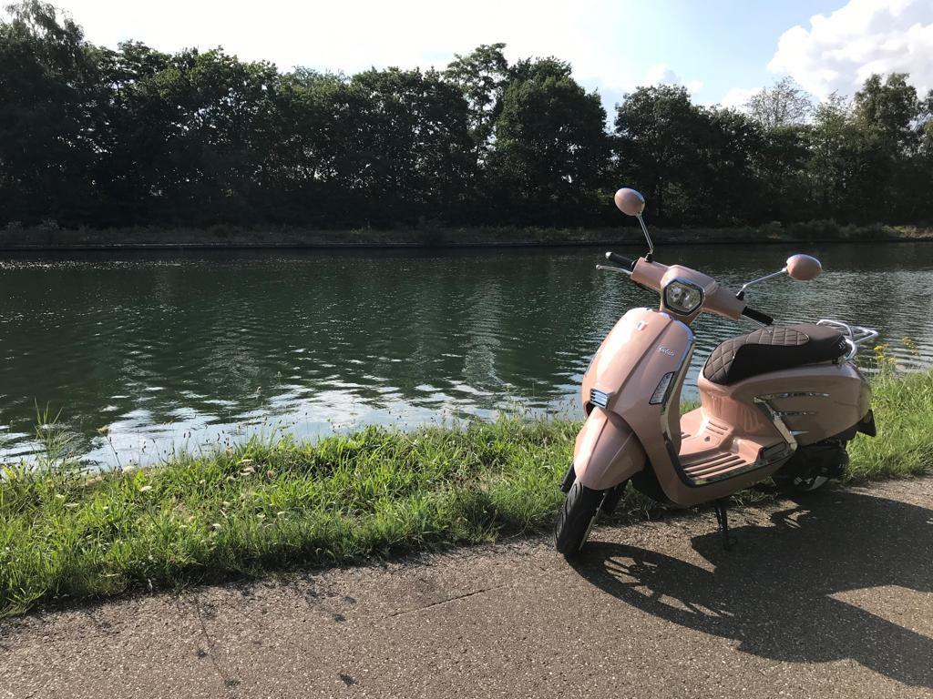 Gelato scooter