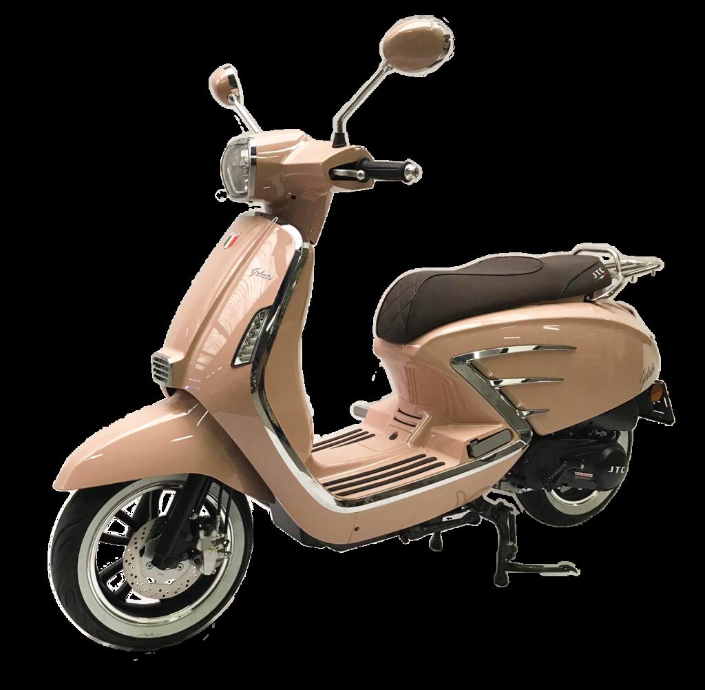 Gelato motorscooter 125 cc
