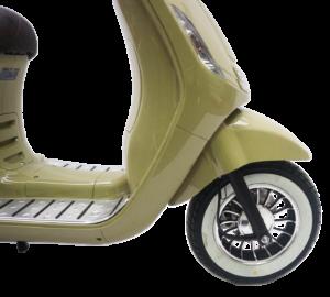 Venice olijfgroen 50cc wiel