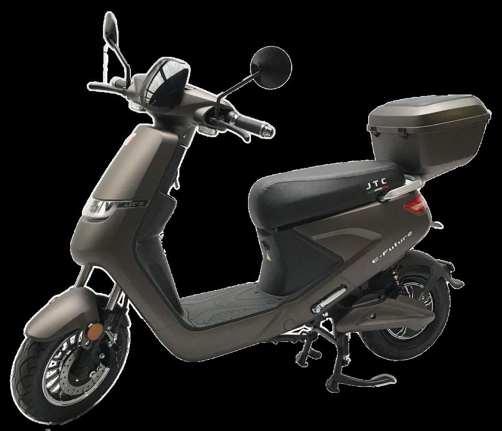 E-future elektrische scooters matbruin