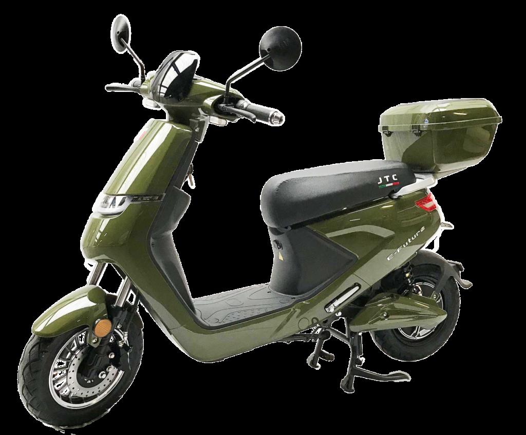 E-future elektrische scooter groen