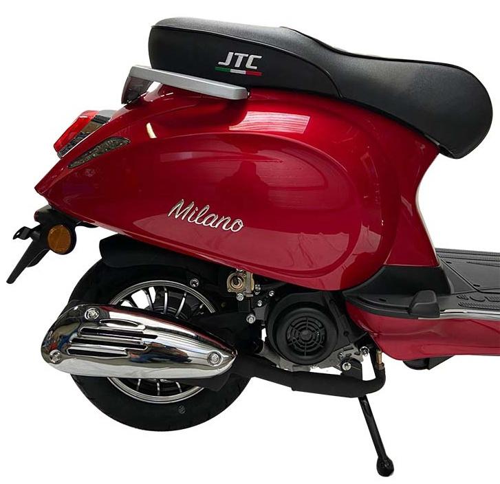 JTC Milano 50cc rood zijkant