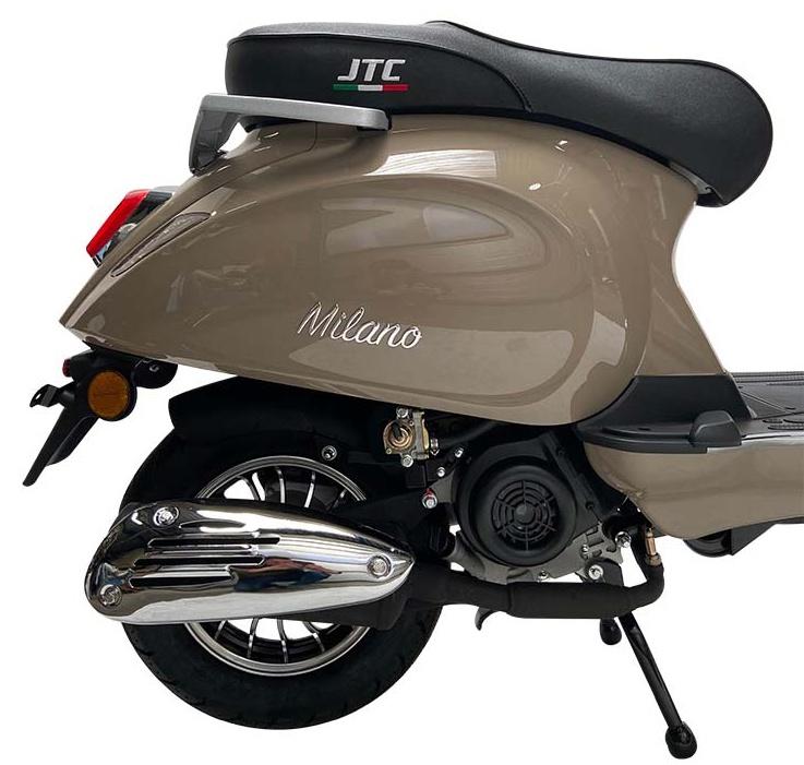 JTC Milano 50cc taupe zijkant