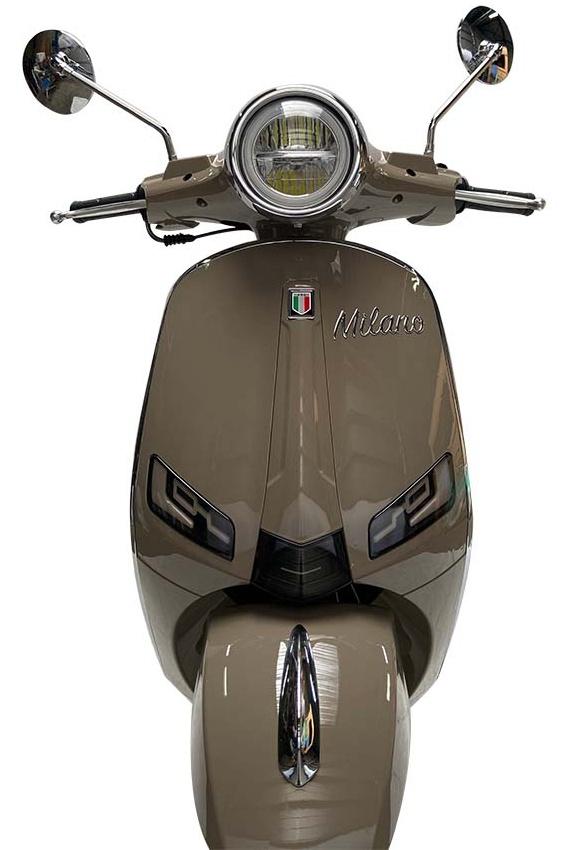 JTC Milano 50cc taupe voorkant